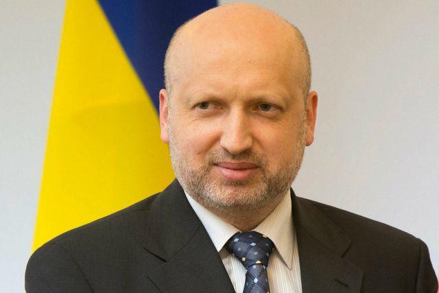 Турчинов подал в отставку с должности главы СНБО