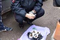 В рюкзаке ребёнка нашли наркотики.