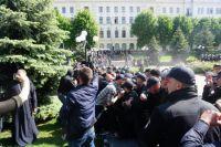 В Черновцах акция ЛГБТ завершилась массовыми столкновениями
