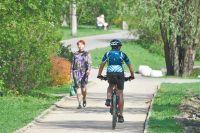 В парке «Фили» можно взять в аренду детские и взрослые велосипеды.