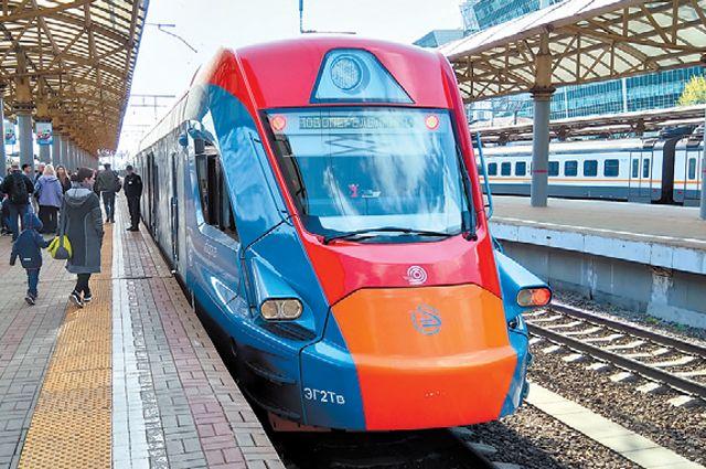 Так выглядит поезд «Иволга», который будет курсировать изЛобни вОдинцово.