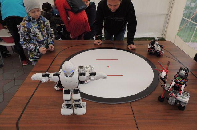 Роботы — одни из главных действующих лиц праздника.