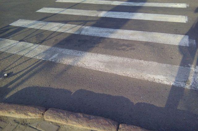 Для пешеходов горел зелёный свет.