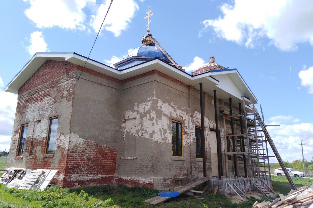 Восстановление церкви началось в 2016 году по инициативе и силами уроженцев Клянчина.