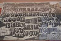 Выпуска медицинского института. Пантюхов как раз под цифрой года - 1934-й.