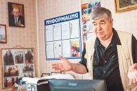 Председатель Совета ветеранов Кунцева Николай Никандров рассказывает оработе инициативной группы.