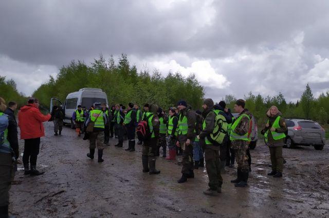 Всего на поиски пропавшего кизеловца вышли 53 человека.