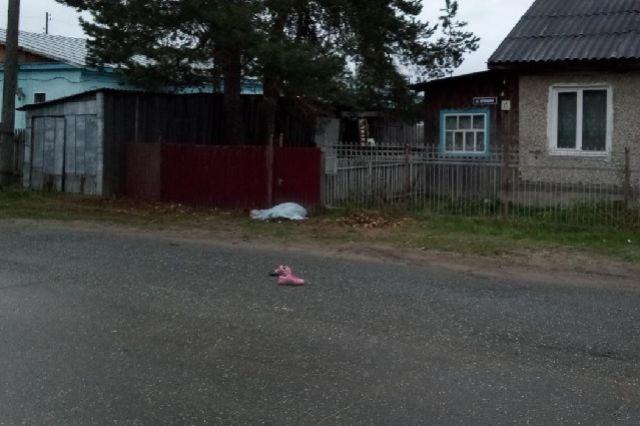 Автомобиль сбил женщину и скрылся с места.
