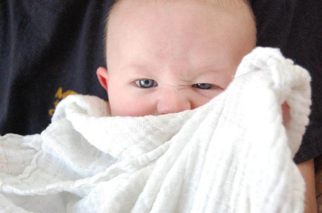 От удара новорожденный получил ушиб головного мозга и перелом теменной кости