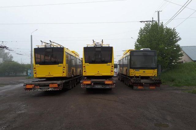 Черновцы закупили новых троллейбуса за 4,6 миллиона гривен