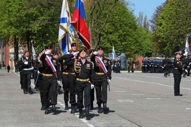 В Балтийске прошли торжества посвящённые 316-й годовщине основания Балтийского флота