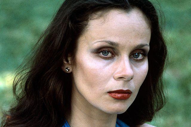 Актриса Московского театра миниатюр Любовь Полищук. 1981 г.