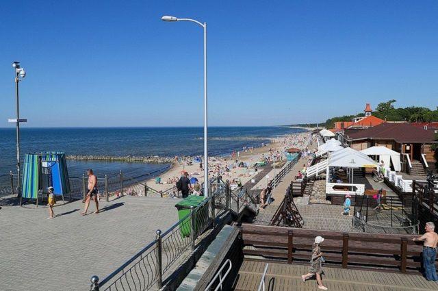 Благоустройство зеленоградских пляжей завершится к 1 июня