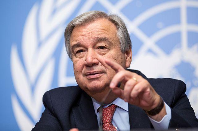 Генсек ООН: Тихий океан может быть отравлен радиоактивными отходами