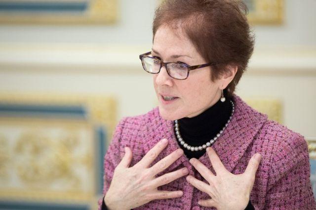 Постоянный посол США на Украине покинула пост