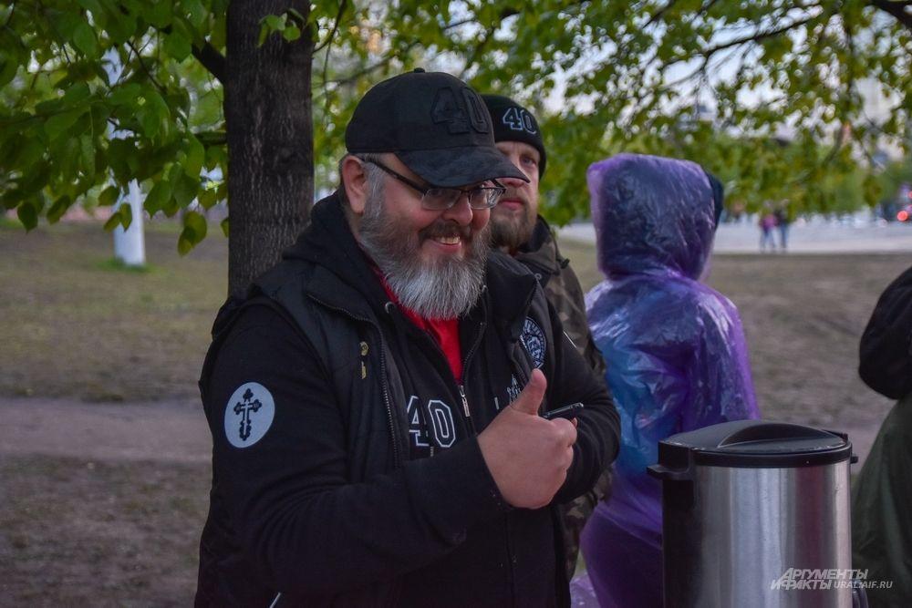 Руководитель движения Андрей Кормухин.