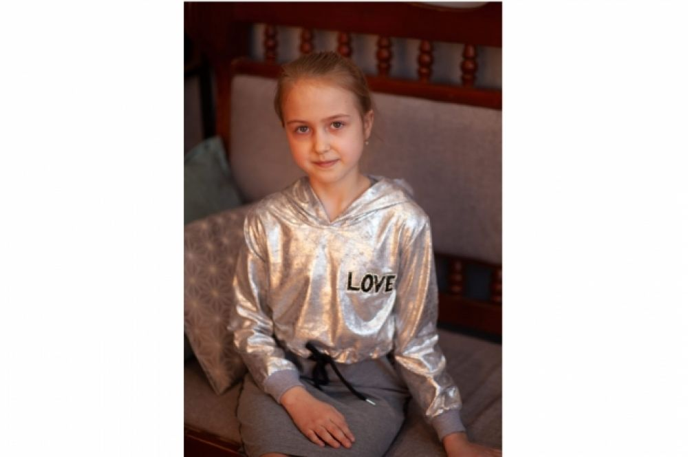 Костина Варя, 8 лет
