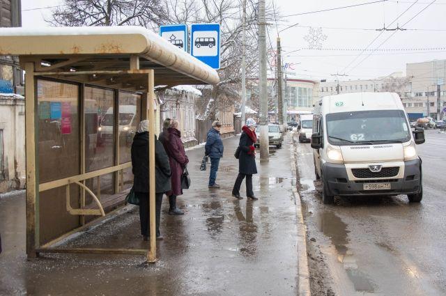 В Омске появятся тёплые остановки