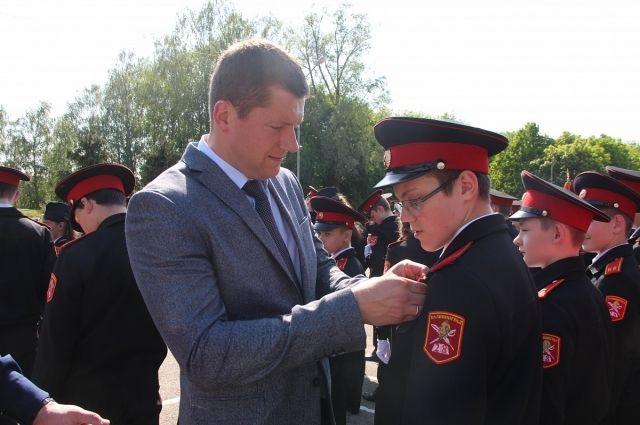 Калининградских кадетов наградили за участие в Параде Победы
