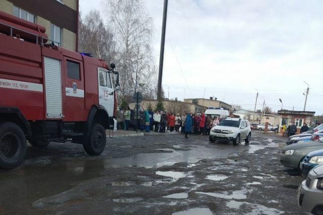 В торговом комплексе «Оскар» эвакуировали посетителей