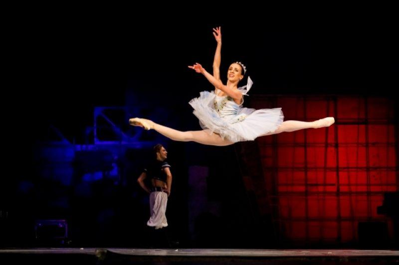 Солистка Новосибирского балета Екатерина Лихова на выступлении 1 июля.