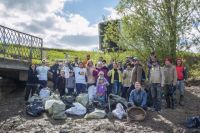 Жители Ново-Савиновского района провели субботник на зелёной зоне по ул. Гаврилова