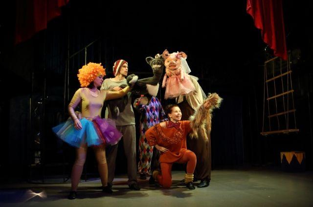Лицейский театр Омска везёт на фестиваль «Каштанку»