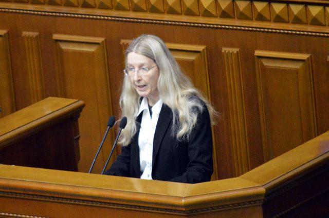 Глава Минздрава Ульяна Супрун покинула Украину из-за заявления о России