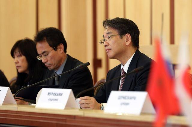 У японских деловых кругов большой интерес к Красноярскому краю.