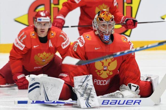 Россия обыграла Швецию со счетом 7:4 в матче чемпионата мира по хоккею