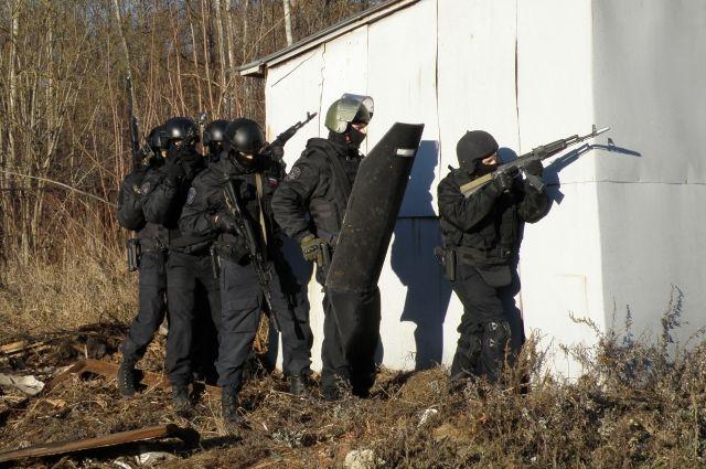 Во Владимирской области в частном доме заблокировали террористов