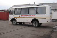 ФАП располагается в полноприводном автомобиле «ПАЗ», который может проехать даже по труднодоступной местности.