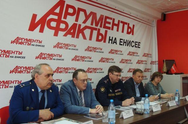 В круглом столе приняли участие представители ГУФСИН, прокуратуры, общественники, ученые.