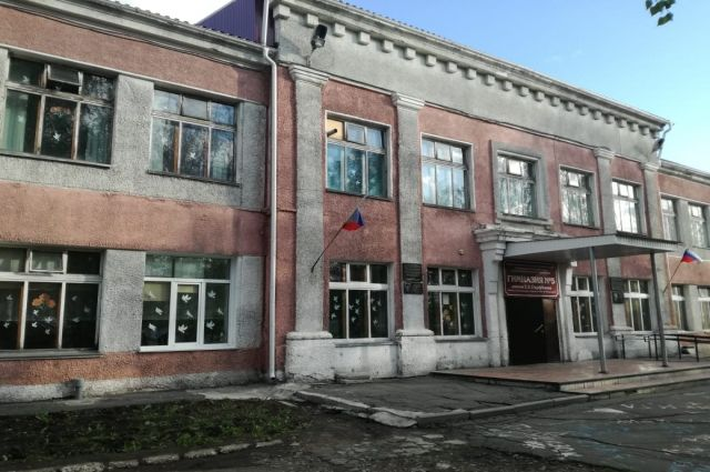 Школьный двор, где и произошел инцидент со стрельбой
