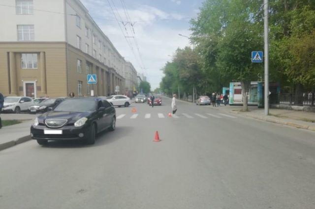 ДТП произошло 20 мая в Железнодорожном районе около 15:00.