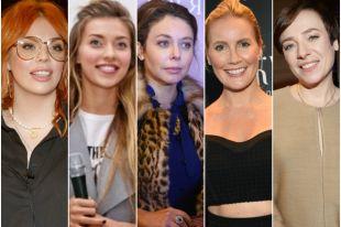 Анастасия Стоцкая, Регина Тодоренко, Елена Летучая, Божена Рынска, Тутта Ларсен.