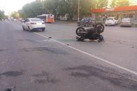ДТП произошло вечером 21 мая на улице Чернышевского в Перми.