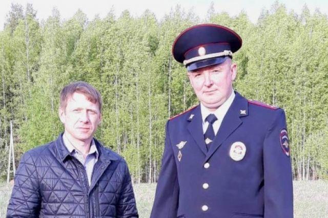 Иван Гогарских и Роман Салауров подоспели вовремя.