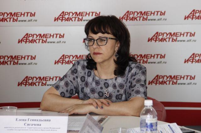Елена Сигачева.