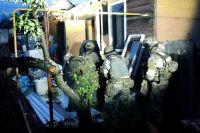 Бандиты скрывались в частном доме