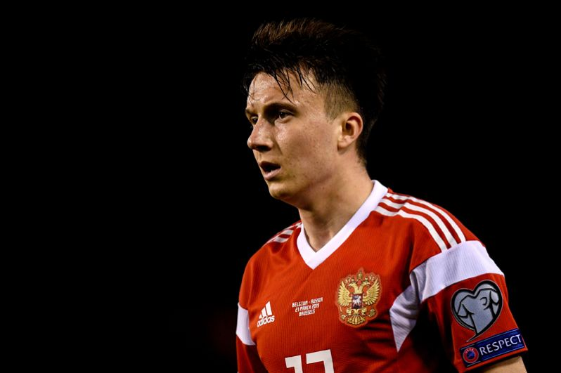 Футболист Александр Головин, 22 года.