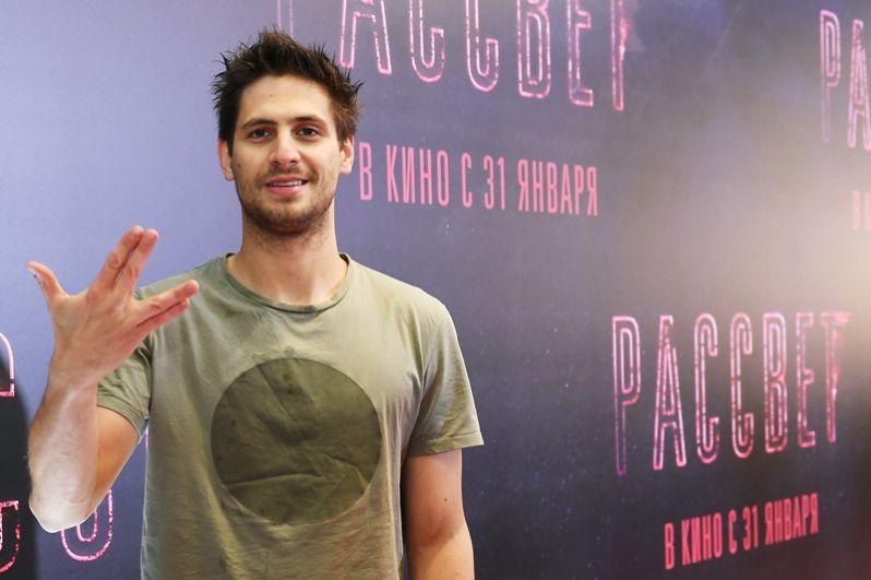 Режиссер и актер Александр Молочников, 27 лет.