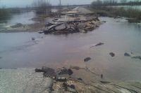 После того, как вода сойдёт, дорогу отремонтируют.
