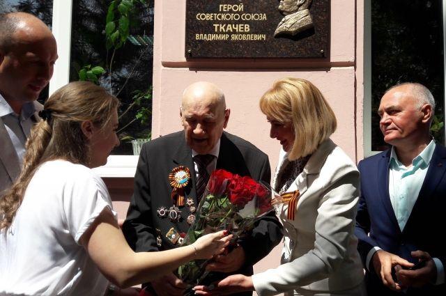 О подвиге Владимира Ткачёва знают и помнят.