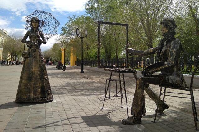 В Оренбурге у «Оркестра фонарей» появились новые арт-объекты