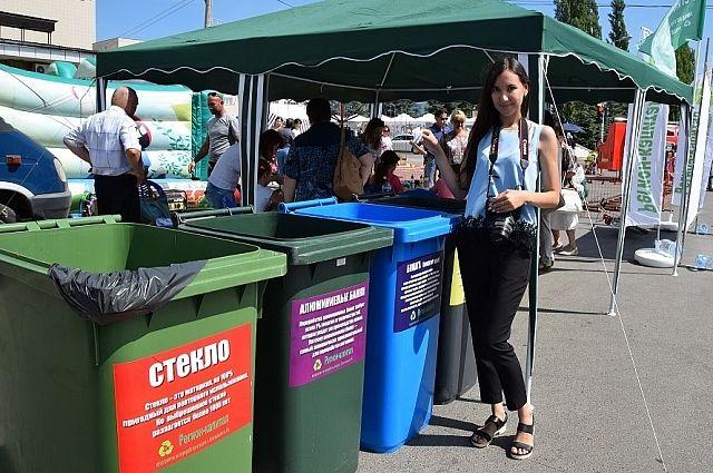 В Казани начали вводить раздельный сбор мусора.