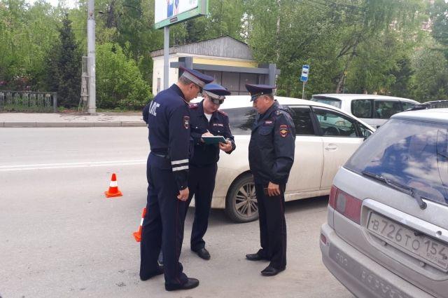 ДТП произошли в Октябрьском и Центральном районах Новосибирска.