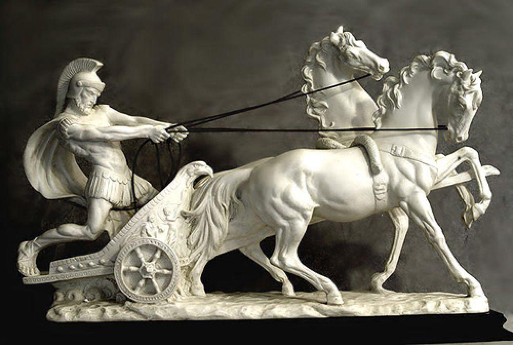 Римский гонщик на колесницах Гай Аппулей Диокл обладал бы 28 млрд долларов. На эти деньги можно было обеспечивать Рим зерном в течение года.