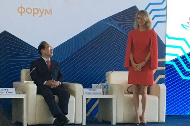 Екатерина Теренова, генеральный менеджер по управлению активами, Россия и СНГ, Changi Airports International