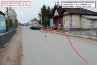 Около 21:40 в селе Помоздино столкнулись два автомобиля.
